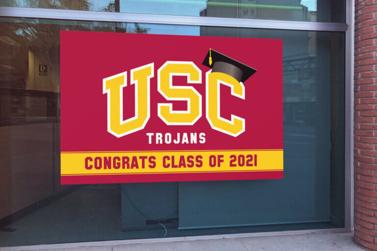 USC Trojan Poster